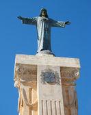 Statue of Jesus Christ on the Mount of Monte Toro — Stock Photo