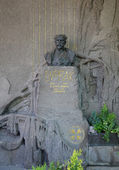 PRAGUE - MAY 19: Last resting place of Antonin Dvorak — Stock Photo