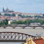 Flooding in Prague — Stock Photo