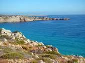 North windward side of the island of Menorca — Stock Photo