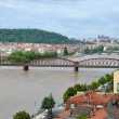 Railway bridge over the Vltava River — Stock Photo #29236195