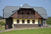 Typical mountain house — Stock Photo
