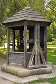Medieval well — Stock Photo