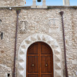 A small chapel in the Old Town, Vieste — Stock Photo