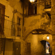Night street in the Old Town of Vieste — Stock Photo #35797255