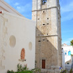 The church of Madre di Sant'Elia in Peschici — Stock Photo