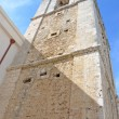 The church tower of Madre di Sant'Elia — Stock Photo