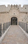Entrance to the Monte Sant'Angelo Castle — Stock Photo