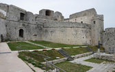 Monte Sant'Angelo Castle - courtyard — Stock Photo