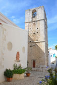 The church of Madre di Sant'Elia in Peschici — Стоковое фото
