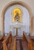 The interior of the church of Madre di Sant'Elia — Stock Photo