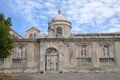 The church of San Pietro in Vico del Gargano — Stock Photo