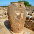 A Minoan amphora — Stock Photo