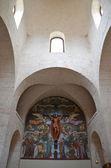 ALBEROBELLO - SEP 17: Interior of the Sant'Antonio church in Alberobello — Stockfoto
