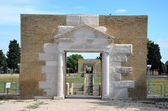Entrance to an ancient amphitheater — Stock Photo