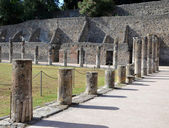 A part of gladiator barracks in Pompeii — Stock Photo