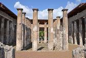 Ruins of ancient Roman city of Pompeii — Стоковое фото