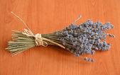 A bunch of dried lavender flowers — Zdjęcie stockowe