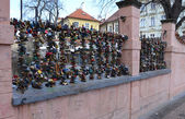 PRAGUE - FEB 23: Place of lovers in Prague — ストック写真