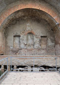 Stabian baths (Terme Stabiane) in Pompeii — Stock Photo