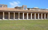 Peristyle in Stabian baths (Terme Stabiane), Pompeii — Zdjęcie stockowe
