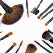 Professional make-up tools — Foto Stock