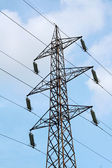 Electricity pole — Stock Photo