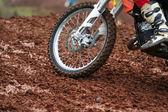 Motorcross wiel — Stockfoto