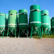 Silos in the street — Stock Photo #14475975