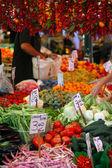 Eksponat rynku żywności — Zdjęcie stockowe