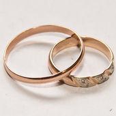 Wedding rings — Foto Stock