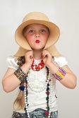 Little fashionista — Stock Photo