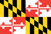 Flag of the American State of Maryland — Stock Photo