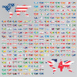 Over 200 Flags of the world — Stock Photo #47391369