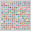 Over 200 Flags of the world — Stock Photo #47391383