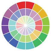 Colour guide — Stock Photo