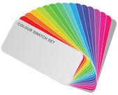 Färg guide — Stockfoto