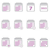 Calendario planner — Foto Stock