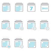 ・ プランナーのカレンダー — ストック写真