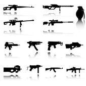 An Illustration of Set of Weapons — Foto de Stock