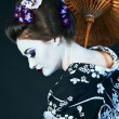 Stock Photo: Japanese geisha