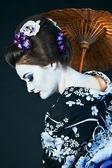 Japanese geisha — Stock Photo