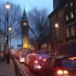 Evening London — Stock Photo