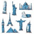 Landmarks - Stock Vector