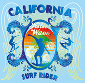 California surfer — Stock Photo