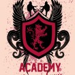 Vector de stock : Surf academy