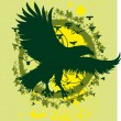 Royalty-Free Stock Vector Image: Tribal eagle