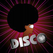 Afro disco girls vector art — Stock Vector #24934271