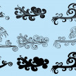 Tattoo tribal wave vector art - Stock Vector