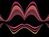 Line abstract background vector art — Stock Vector
